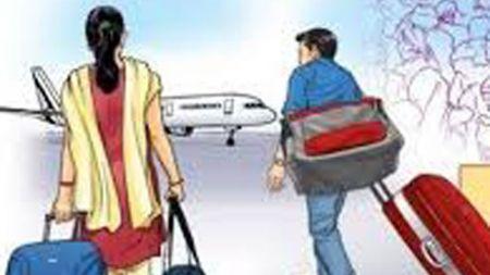 श्रीलंका हिँडेका ८ नेपाली युवती विमानस्थलबाटै फिर्ता