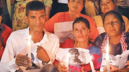निर्मला हत्या काण्ड : अनिश्चितकालीन धर्ना तोड्दै अभिभावक