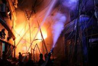 जनकपुरमा आगलागी हुँदा ८ सिलिण्डर विष्फोट