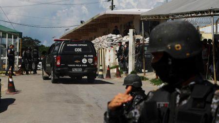 ब्राजिलको कारागारमा कैदीबीच झडप, १५ जनाको मृत्यु