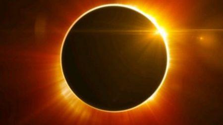 आइतबार खण्डग्रास सूर्यग्रहण
