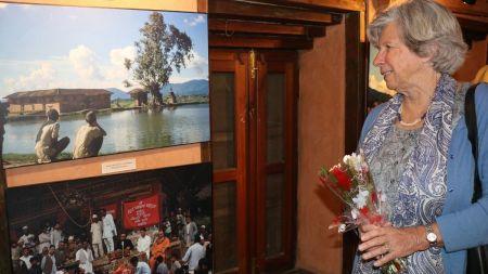 टोनी हेगनको नेपाल प्रदर्शनीमा