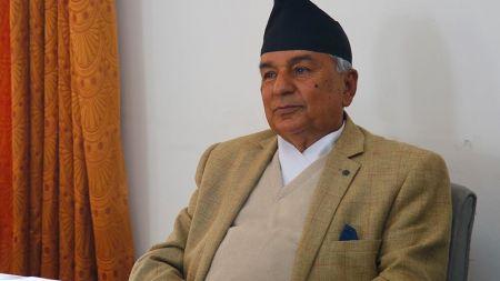 नेपाली कांग्रेसका वरिष्ठ नेता रामचन्द्र पौडेल प्रहरी नियन्त्रणमा