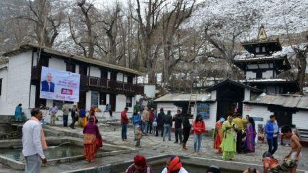 मुक्तिनाथमा भारतीय पर्यटक बढी
