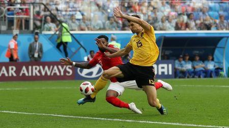 बेल्जियम पहिलाे हाफमा इंग्ल्यान्डविरूद्ध १–० अघि