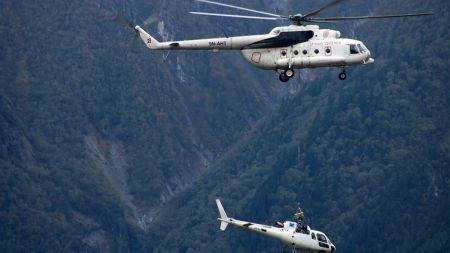 मनाङ एयरको हेलिकोप्टर सिमकोटमा