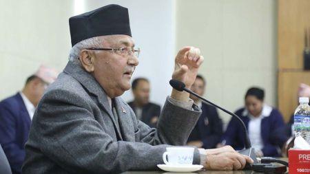 भूकम्पपछि बनेका घरको मापदण्ड पूरा हुन्छः प्रधानमन्त्री ओली