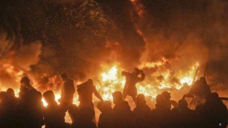 कालिकोटको खाडा गाउँमा आगलागी, ३० घर जलेर नष्ट