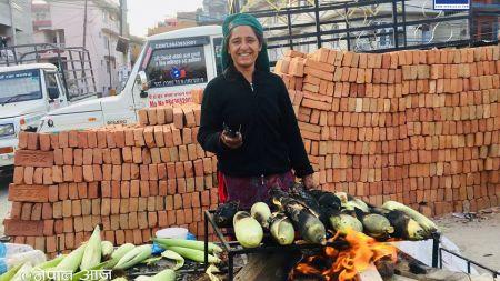 मकै बेचेरै महिनामा ७५ हजार ! पढ्नुहोस् लक्ष्मीको कथा