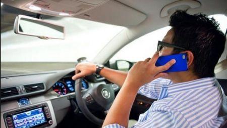 गाडी चलाउँदा मोबाइलमा कुरा गर्ने २९ हजार चालकलाई कारबाही