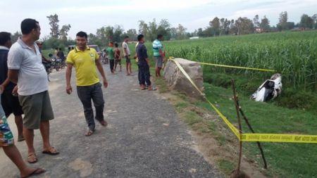 कञ्चनपुरमा स्कुटर दुर्घटना हुँदा २ जनाको मृत्यु