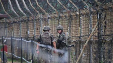 उत्तर कोरियाली सैनिक खतरानाक सीमाबाट भागेर दक्षिण कोरिया छिरे