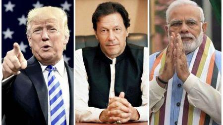 कश्मिरबारे भारत र पाकिस्तानी प्रधानमन्त्रीसँग ट्रम्पको फोनवार्ता