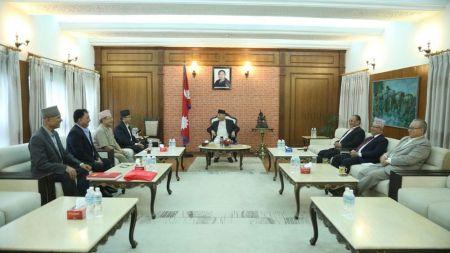 नेकपा सचिवालय बैठकः प्रदेश ३ को नाम वाग्मती, राजधानी हेटौँडा