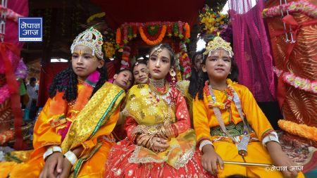 कस्तो रह्यो कृष्ण जन्माष्टमीमा पाटन (फोटो फिचर)