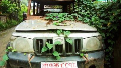 झाडीमा थन्किए, सरकारी गाडी (फोटोफिचर)