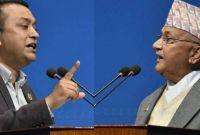 कम्युनिष्ट सरकारप्रति गर्जिदैँ गगनले मागे प्रधानमन्त्रीको राजीनामा
