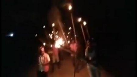 शिवसेना नेपालद्वारा बारामा राँके जुलुस प्रदर्शन