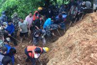 स्याङजामा पहिरोमा परि एकै परिवारका ९ सहित १० जनाको मृत्यु