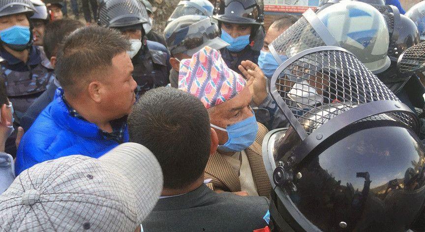 तस्करद्वारा प्रशासनलाई हातमा लिएर मलाई पक्राउ गरियोः नेता पौडेल