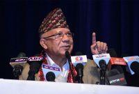 केपी ओली कुलकै कुलंघार: नेता नेपाल