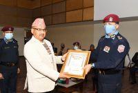 नेपाल प्रहरीद्वारा ९५ दशमलव ४६ प्रतिशत वेरुजु फर्छ्यौठ