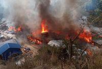 ताप्लेजुङ आगलागी विस्थापितलाई भूकम्प पीडितसरह सहयोग दिन योगेशको माग