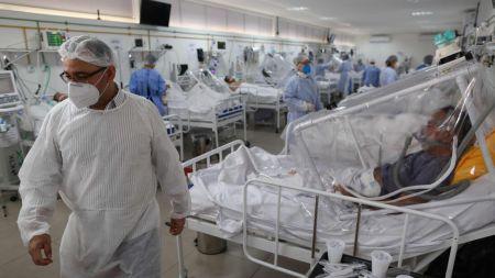 ब्राजिलका कोरोना भाइरसबाट एकै दिनमा चार हजार भन्दा बढीको मृत्यु