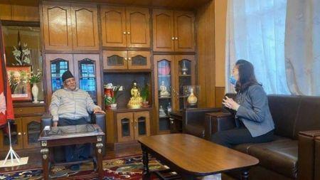 एमसीसी रोक्न चिनियाँ राजदूतले प्रचण्डलाई दिइन् यस्तो चेतावनी