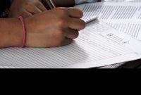 आमा–छोरासँगै कक्षा १२ को परीक्षामा